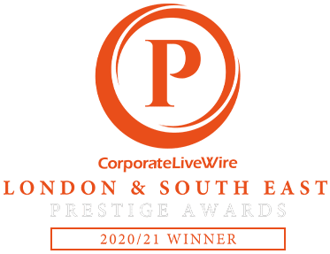 CorporateLiveWire London & South East Prestige Awards 2020/21 Winner Awards Winner 2020-2021