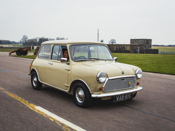 1969 Austin Mini In Motion (2)