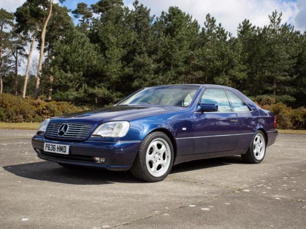 1996 Mercedes 500 CL HERO